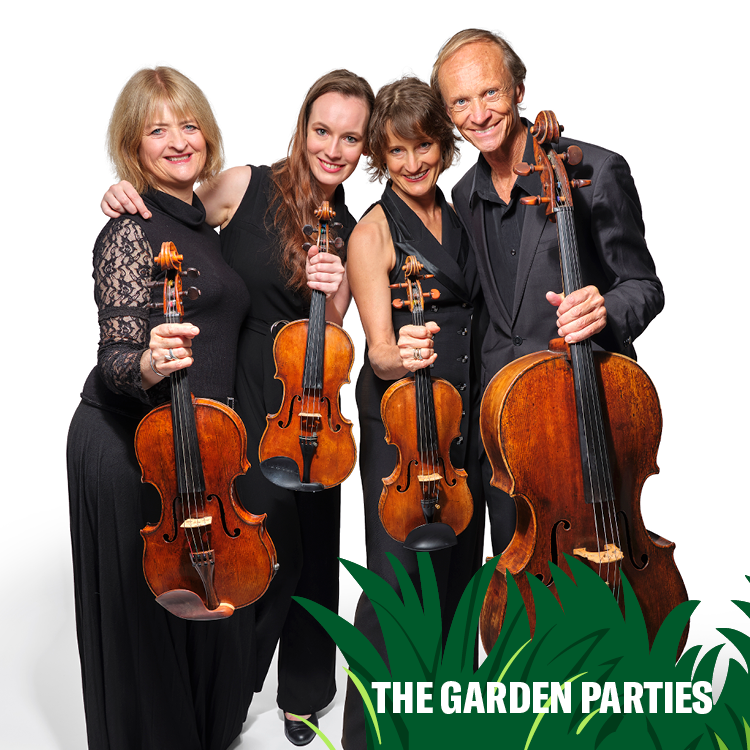 The Garden Parties - New Zealand String Quartet: Win one of the best gigs of Summer in your own backyard!